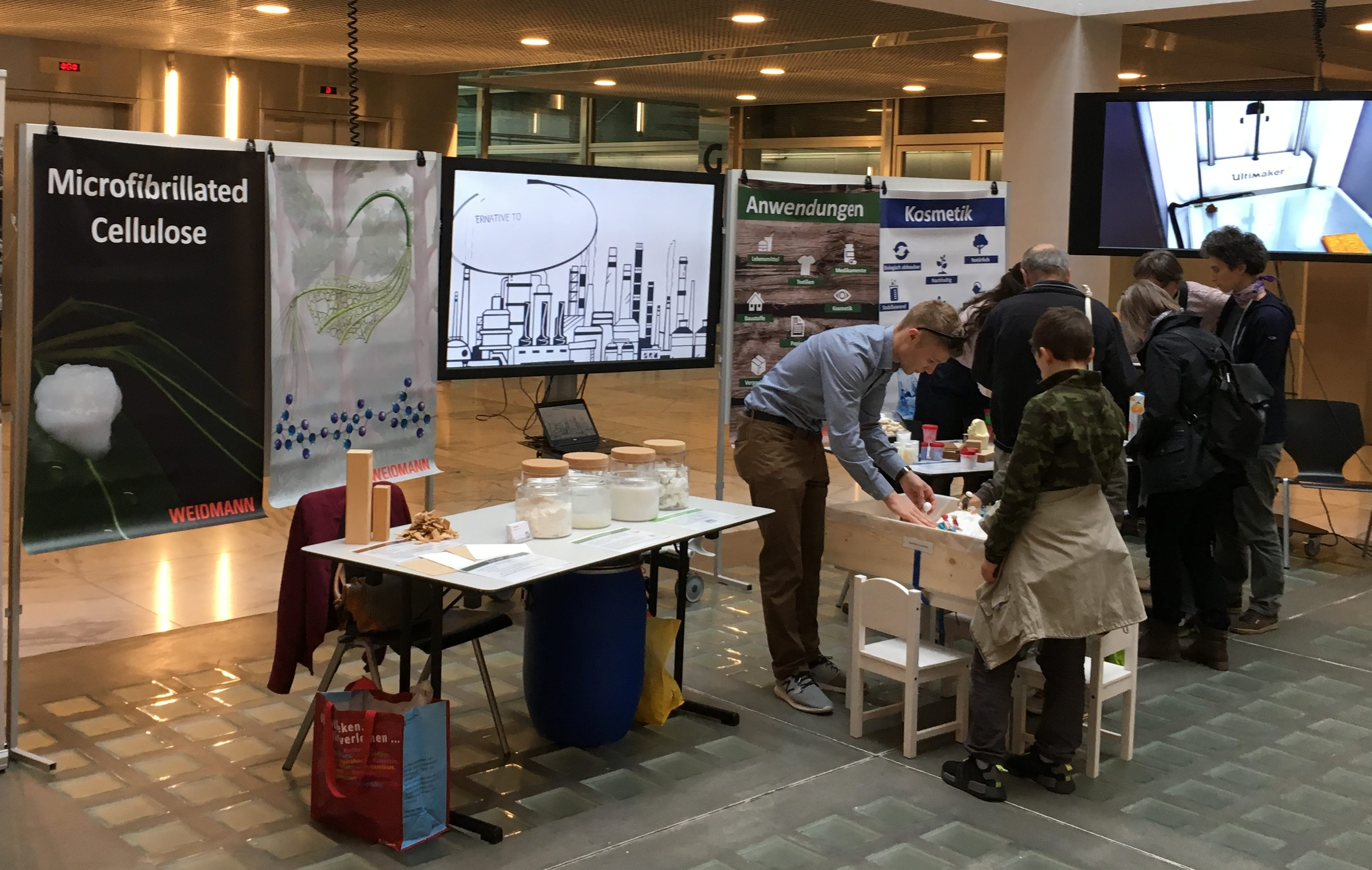 ETH Treffpunkt Science City Booth